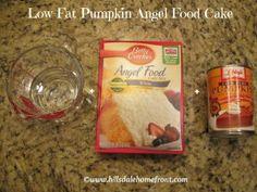 Low-Fat Pumpkin Cake