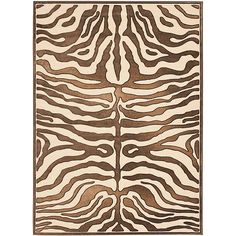 Add an exotic flair to any room with the chic Safavieh Paradise Zebra Area Rug. Decked out in a vivid zebra pattern that rises from a plush, cut viscose pile to offer a textured, dimensional look, the stylish rug is an ideal choice for your home. Tibetan Rugs, Fabric Rug, Black Animals, Colorful Rugs, Rug Size, Size 2, Wool Rug, Animal Print Rug, Area Rugs
