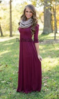 What You're Looking For Maxi Dress Wine