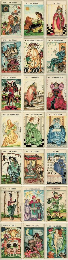 Divination: The Fiabeschi Tarot.