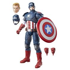 Marvel Legends Series 12inch Captain America *** You can get more details by clicking on the image.