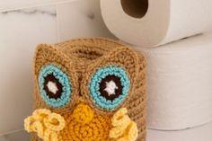 Toilet Roll Owl