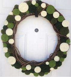 Rosette Wreath Tutorial