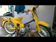 H O N D A C-70: HONDA FAMILY Honda Cub, Custom Bikes, Bridges, Restoration, Vintage, Decor, Decoration, Dekoration, Inredning