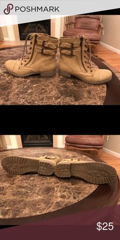 Brand new. Never worn Guess Combat Boots. New. Never worn Guess Shoes Combat & Moto Boots