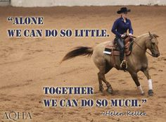 Visit aqha.com to learn more about the American Quarter Horse Association. #AQHAProud