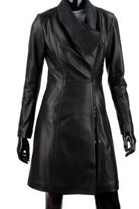 Płaszcz skórzany damski DORJAN ESTZ450 Leather Jacket, Coat, Womens Fashion, Jackets, Collection, Studded Leather Jacket, Down Jackets, Leather Jackets, Sewing Coat