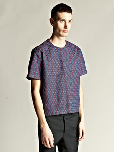 top from the jil sander 2012 collection by raf simons. love the volume and the fabric