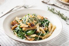 Spring Parsnip & Caramelized Onion Pasta