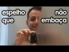 Como não deixar o espelho do banheiro embaçar (dica doméstica) - YouTube