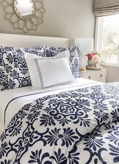 Great post on the best duvet inserts including details on the importance of fill power! Bedding Master Bedroom, Bedroom Decor, New England Homes, New Homes, White Coverlet, Driven By Decor, Guest Bed, How To Make Bed, Decorating Your Home