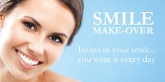 #SmileMakeover are procedures in which we first assess your #smile and then redesign your smile for the desired look   Read more :