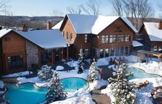 7 4. Nordik Spa-Nature Located at the entrance of Gatineau Park this is the largest spa in North America and is located only 10 minutes outside of Ottawa.