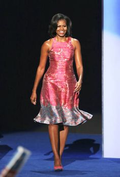 I do absolutely love Michelle Obama