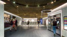 Nulty - London Underground Station Design Idiom - Entrance Exit Transport Journey Modern Energy Efficient Lighting Solution Travel