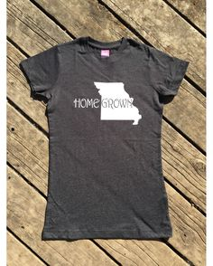 Homegrown T-Shirt, State of Missouri. Country Music Vintage T- Shirt, Your New Go-To Tee! Incredibly soft, comfy, poly/cotton blend vintage t-shirts fit and feel so amazing that you'll want to wear it with everything. This style has a longer length and just the right amount of room. Easily style your new shirt with jeans, shorts or leggings, and you're going to look great. Add your cowboy boots and you're ready-to-go! With sizes from XXS-XXL you're sure to find the perfect fit.  -Durable…
