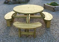 Ana White – Woodworking Projects and DIY Furniture Plans Ana White – Woodworking Projects and DIY Fu Best Woodworking Tools, Intarsia Woodworking, Woodworking Furniture, Woodworking Projects Plans, Woodworking Vise, Woodworking Patterns, Round Picnic Table, Picnic Table Plans, Wooden Garden Furniture