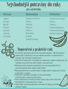 Seznam nejvhodnejsich potravin do ruky pro kojence.  #prikrmy #matkysobe