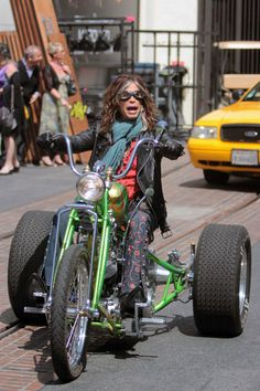 Steven Tyler . . . Truly a personality extraordinaire.