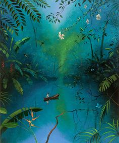 Nicholas Hely Hutchinson This is a Magical place, c. 2006 Oil on canvas 32x26ins
