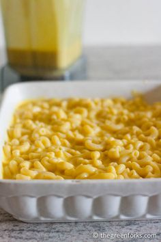 Vegan Macaroni and Cheese- ALL NATURAL- made without soy, nutritional yeast, cashews, margarine, or fake cheese!