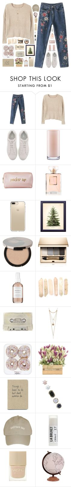 """""""*we found love in a hopeless place*"""" by my-black-wings ❤ liked on Polyvore featuring MANGO, Fendi, Kate Spade, Neiman Marcus, Chanel, Speck, Juice Beauty, Clarins, Herbivore and Uslu Airlines"""