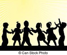 silhouette zwaaiende kinderen - Google zoeken Silhouette Pictures, Silhouette Art, Watercolor Art, Mary Poppins, Stock Photos, Watercolors, Silhouettes, Stencil, People