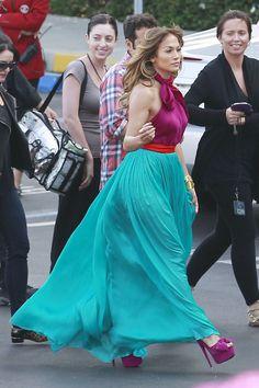 Jennifer Lopez in great colors