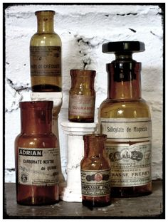 Antique French Apothecary