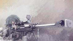 Sinon Sniper Girl Rifle Gun Gale Online Sword Art Online 2 Anime Taigalife 1920x1080
