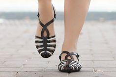 Woven Leather SandalsWomen's Sandals Summer Shoes