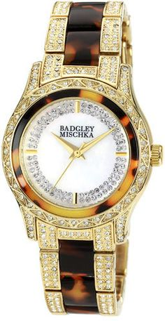 Badgley Mischka Round Crystal Bracelet Watch Sold Out thestylecure.com