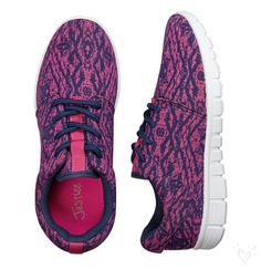 Our pink and purple color-drizzled sneakers are going to be your new faves!