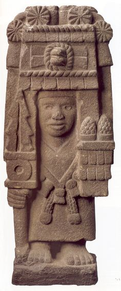 Chicomecoatl, Aztec Goddess of Mature Corn