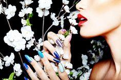 ©: Make it Pop! Tattoo Designs, Nail Designs, Nail Trends, Design Trends, Tattoos, Nails, How To Make, Jewelry, Finger Nails