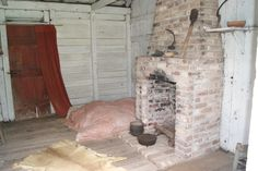 Inside a Slave Cabin at the Rural Life Museum in Baton Rouge La