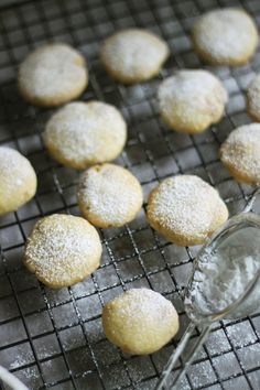 food on paper: Lemon and White Chocolate Shortbread
