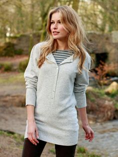 Henley Slouch | Womens Jumpers  celtic-sheepskin #saveoursweaters #lillybrush