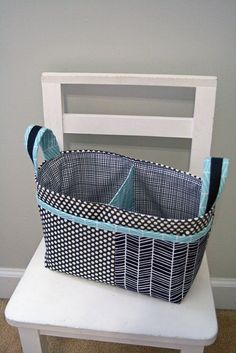 Divided Basket | pattern by noodlehead