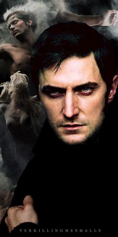 agree with Anne Rice, Richard ARMITAGE would make an outstanding vampire.