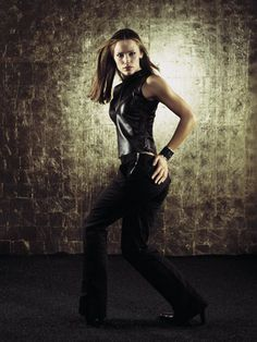 The Most Stylish TV Characters of All-Time: Jennifer Garner as Sydney Bristow on Alias, 2002.