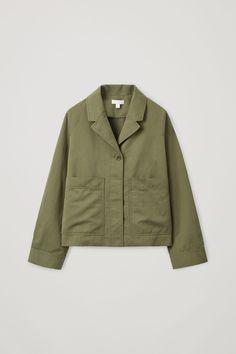 Cos Casual Cotton-linen Blazer In Green Color Khaki, Khaki Green, Coats For Women, Jackets For Women, Clothes For Women, Cos Jackets, Suit Shop, Linen Blazer, Cotton Linen