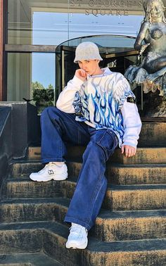 00s Fashion, Fashion Mode, Fashion Outfits, Fashion For Men, Fashion 2020, Trendy Fashion, Outfits With Hats, Mode Outfits, Outfits For Boys