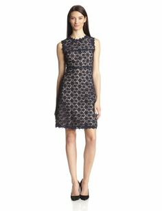 65f194a88931 Elie Tahari Women s Ophelia Floral Sleeveless Fit And Flare Dress