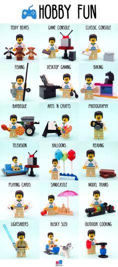 lego hobbies