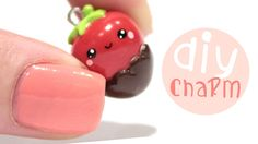 How to make a chocolate dipped strawberry in Polymer Clay! You can make it in other colors or add more details if you want to :) Have any ideas about what I ...