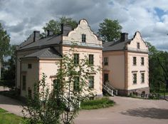 Albergan kartanorakennus - Alberga manor building in Espoo. Owned by the city of Espoo, who rents it for parties and meetings.