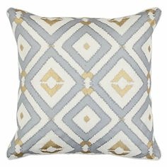 Graphically repetitive and visually stunning, our Majestic Pillow is an exceptional way to update your décor.