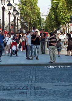 Paris, France  By the Arch of Triumph  By L'Arc de Triomphe