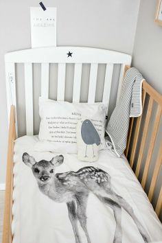 Oh deer! #nursery #baby #kids #bed